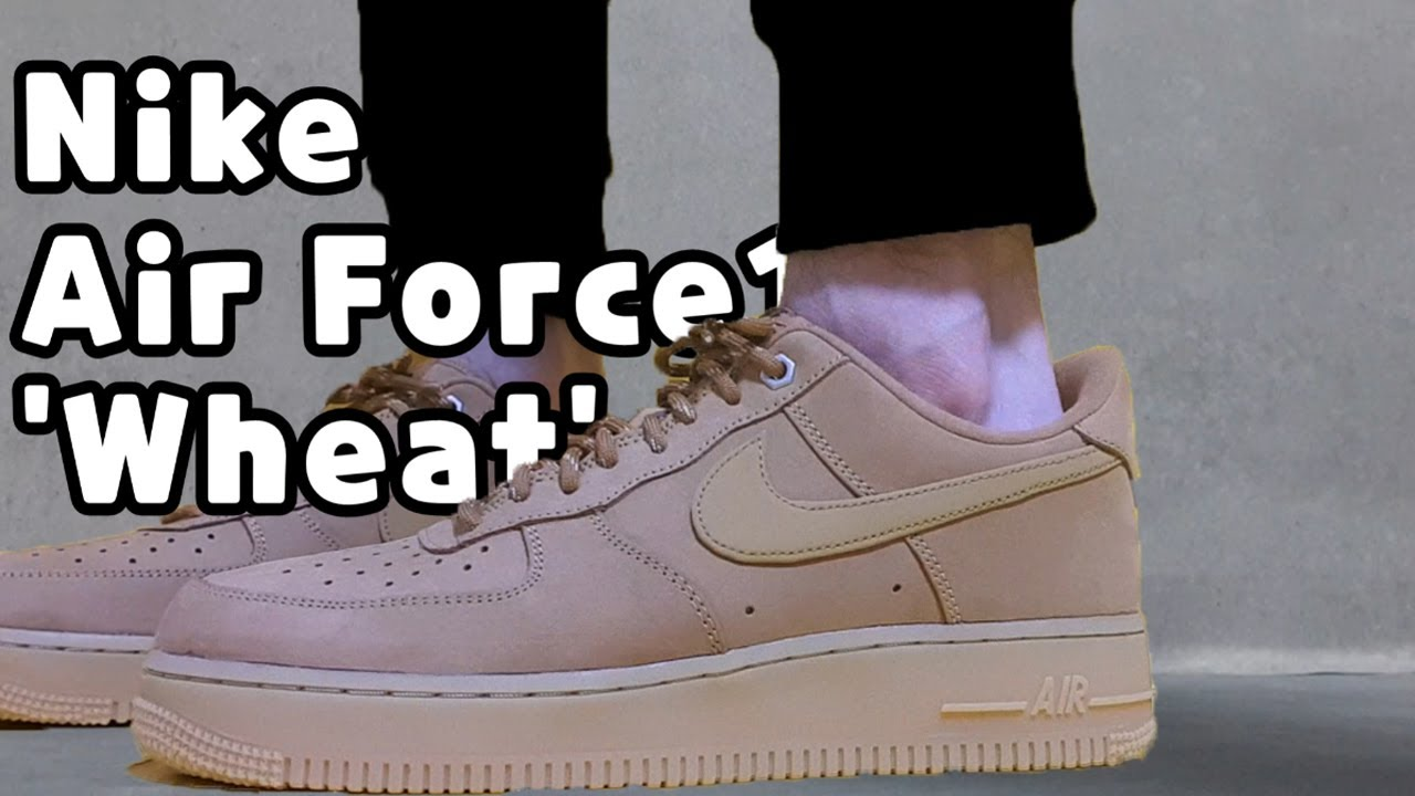 NIKE Air Force 1 '07 WB Wheat unboxingNIKE Air Force 1 '07 review