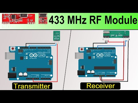 How 433 MHz RF Module Works & Interfacing With Arduino