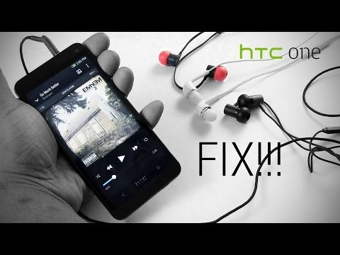 HTC One: Fix for headphones cutting out/skipping tracks in the music player
