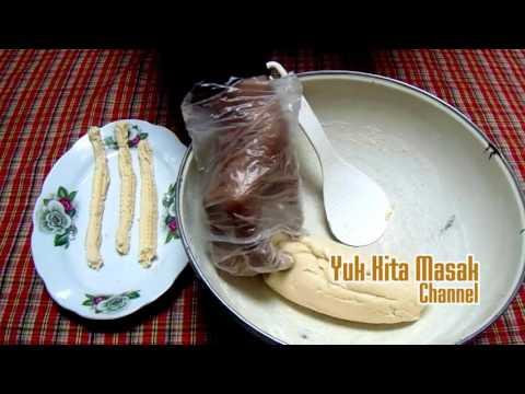 Cara Membuat dan Resep Kue Akar Kelapa