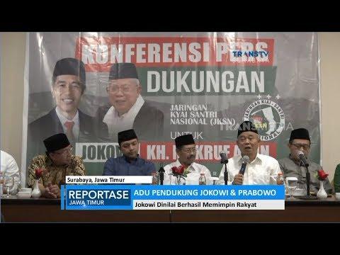 Adu Pendukung Jokowi & Prabowo