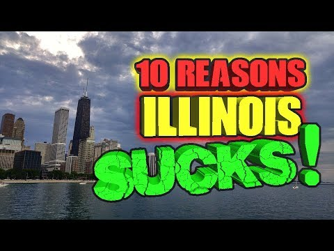 10 reasons Illinois SUCKS!