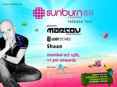 Sunburn 2011 Release tour with 'Marco V' LIVE @ Blue Frog