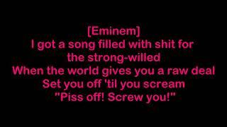 #EMINEM SONG venom lyrics