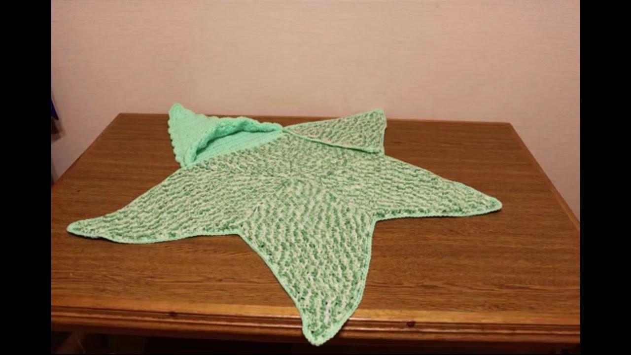 вязание крючком для малышей детский конверт морская звезда Youtube