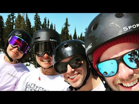 🔴Live: Spring Snowboarding in Whistler with Kevin, David, Matt & Ryan
