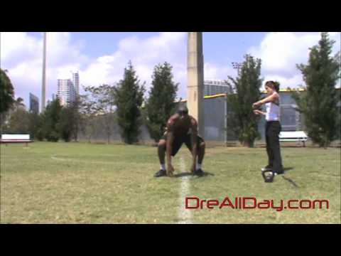 Dre Baldwin: High Touch-Down Frog Leap-Ups | Explosive Basketball Vertical Jump Drills