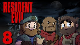 Resident Evil HD Remake | Let's Play Ep. 8 | Super Beard Bros.