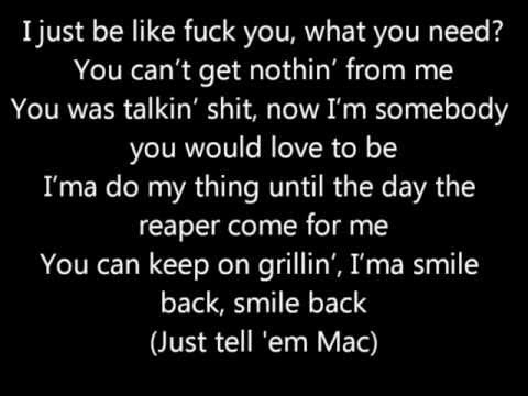 Mac Miller- Smile Back (Lyric Video) HD