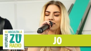 JO - Mesajul meu (Live la Radio ZU)