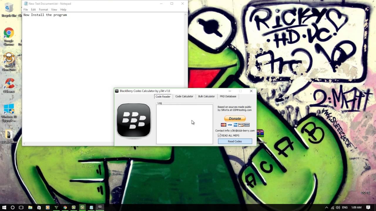Blackberry escreen calculator download