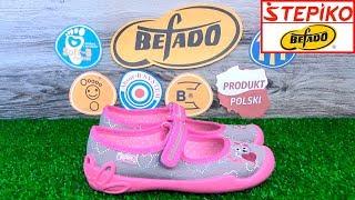 Детские текстильные мокасины Befado Blanca 114X295. Видео обзор от STEPIKO