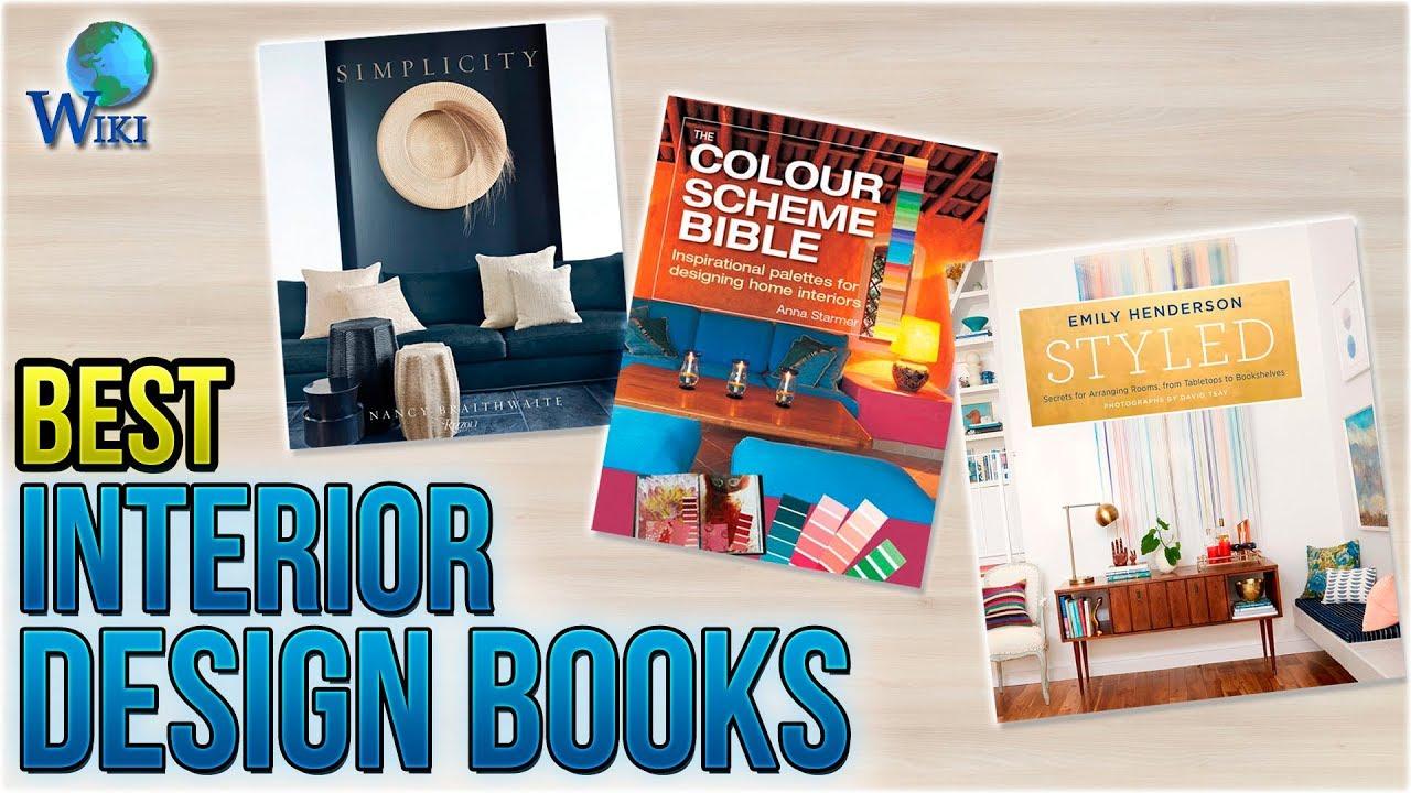 10 Best Interior Design Books 2018