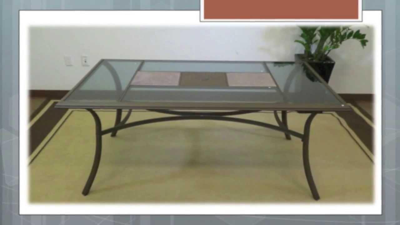 kohls coronado dining table - youtube