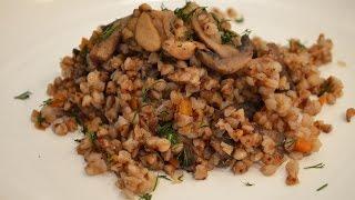 Гречневая каша с мясом и грибами(Очень вкусная гречневая каша с грибами и мясом. Конечно рецепт не новый, но тем не менее хочется приготовить..., 2015-04-08T11:35:23.000Z)