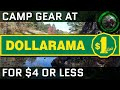 Top 10 Camping Equipment You Can Get At Dollarama For $4 Or Less (Great Beginner Gear)