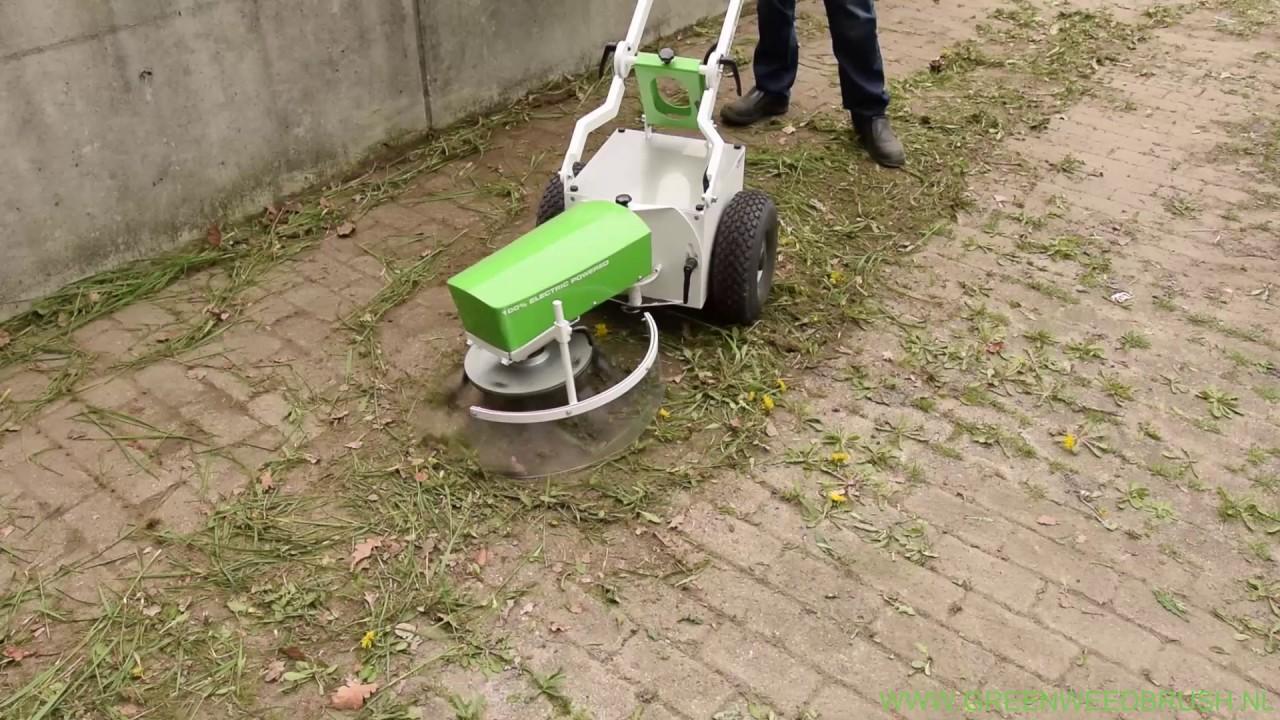 Green Weed Brush - YouTube