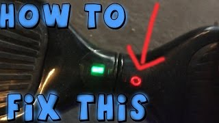 RED FLASHING LIGHT! HOW TO FIX YOUR HOVERBOARD
