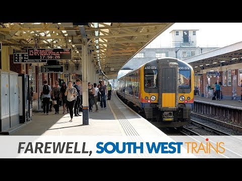 Farewell, South West Trains: Brookwood & Woking