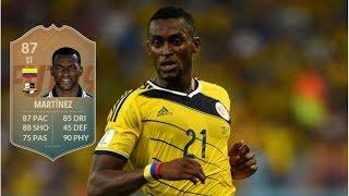 FIFA 19 - FLASHBACK SBC JACKSON MARTINEZ (87) PLAYER REVIEW