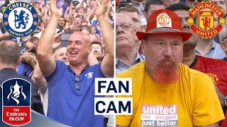 The Best Fan Reactions as Chelsea Beat Manchester United! | Emirates FA Cup Final 2017/18