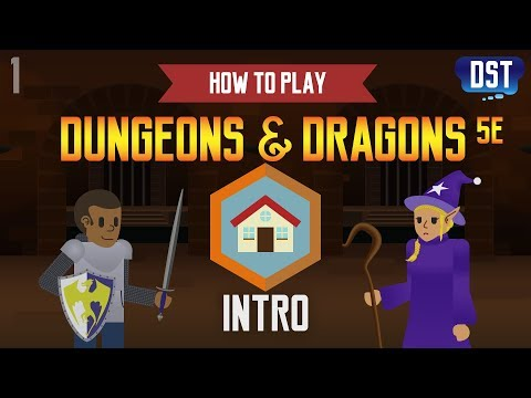 How to Play Dungeons and Dragons 5e - Intro