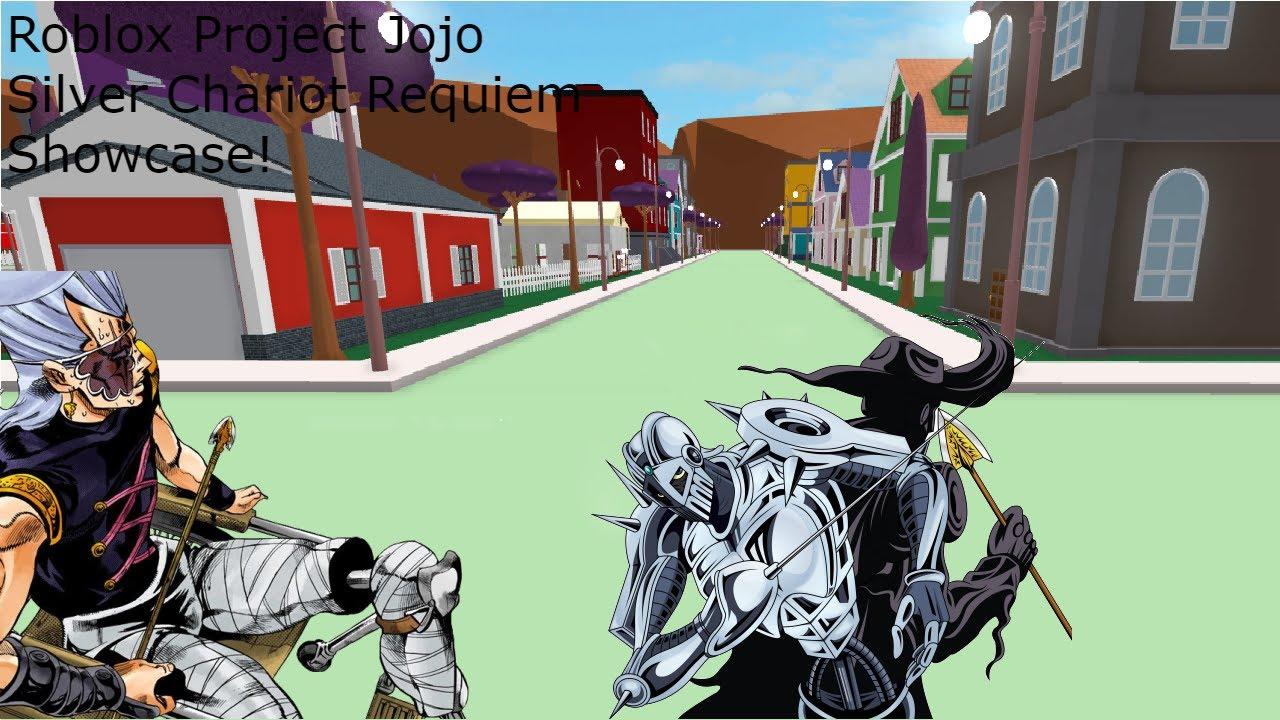 Roblox Project Jojo Silver Chariot Requiem Showcase  YouTube