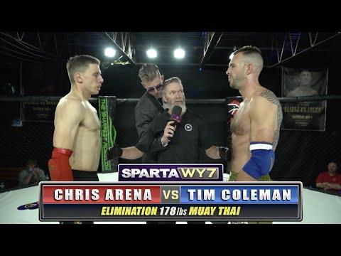 Sparta WY7: Chris Arena v Tim Coleman