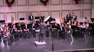 The Battle Of Trenton (1792) [Hewitt/Elkus] - Hartland High School Wind Ensemble - 10 Dec. 2013