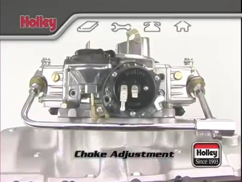 Holley Carburetor Choke Adjustment Tutorial Overview