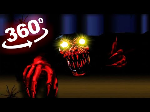 VR Scary 360 Video - Will you survive the night? Boogeyman in Virtual Reality