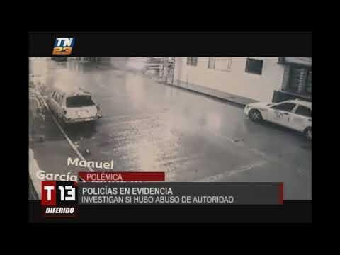 Vídeo muestra agresión de PNC a ciudadano