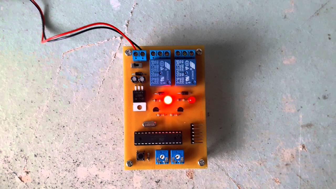 Project Arduino Relay Timer Youtube Circuit