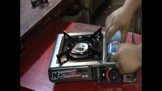 Портативная газовая плита (обзор)
