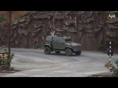 IAG IDEX 2017 Guardian Max II Xtreme Tracker APCs  armored water cannon Abu Dhabi UAE