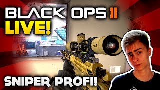 Black Ops 2 - Sniper Profi! - Live mit Haubna #21 (Deutsch/German)