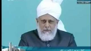 Проповедь Хазрата Мирзы Масрура Ахмада, (04-06-10) часть 5