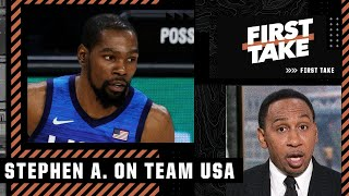 Stephen A. reacts to Team USA's 2nd loss: KD could 'end up being severely tarnished' 