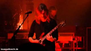Opeth - I Feel The Dark live at Capitol Offenbach