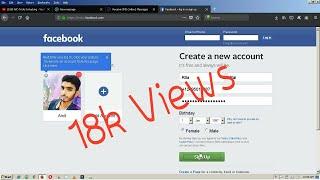 كيفية إنشاء Facebook دون حساب البريد الإلكتروني رقم الهاتف