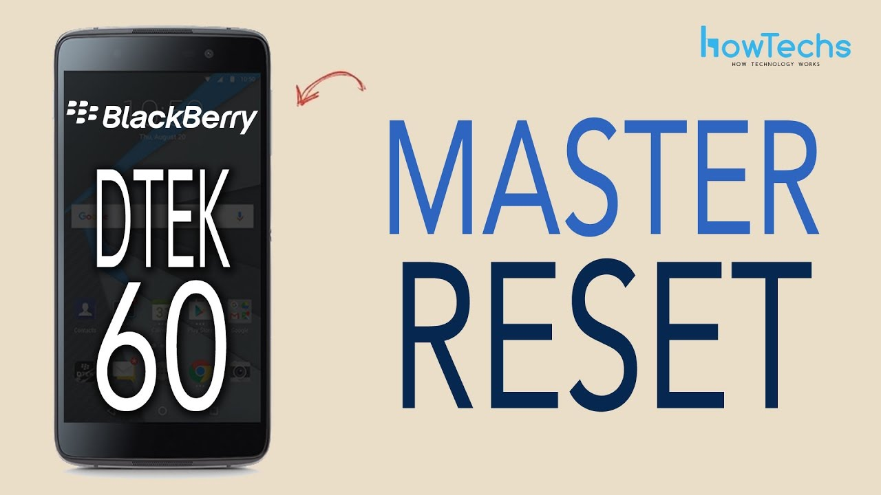 Blackberry DTEK60 Restart Videos - Waoweo