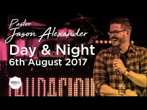 """Jason Alexander - """"Night and day"""" -  6th August 2017"""