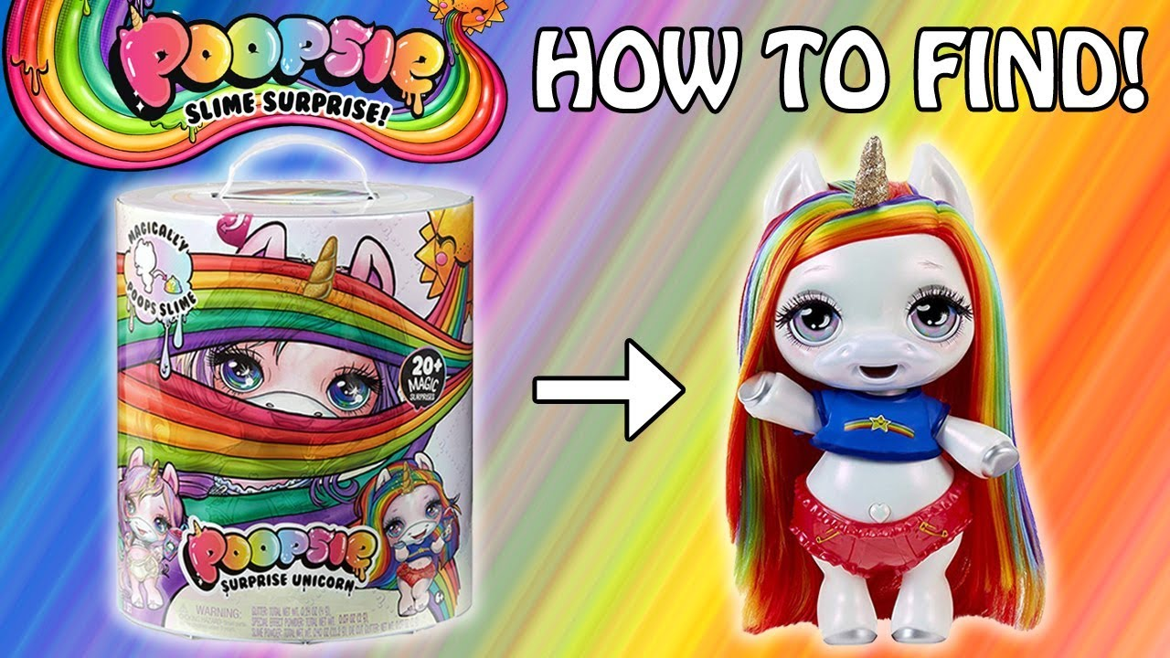 Unicorn Toys Target Poopsie Surprise Unicorn Hack To Find Rainbow Brightstar Unboxing Toy Hunt