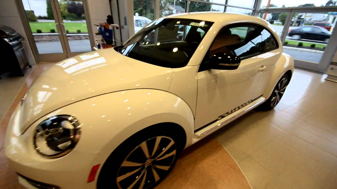 Brand New 2012 Volkswagen Beetle Turbo Walk Around At