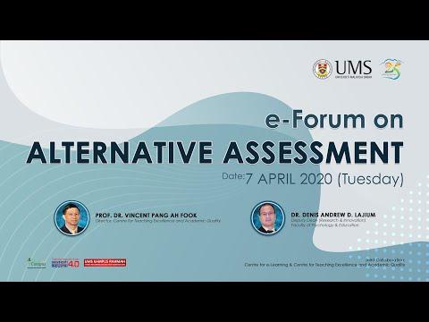 E-FORUM ON ALTERNATIVE ASSESSMENT