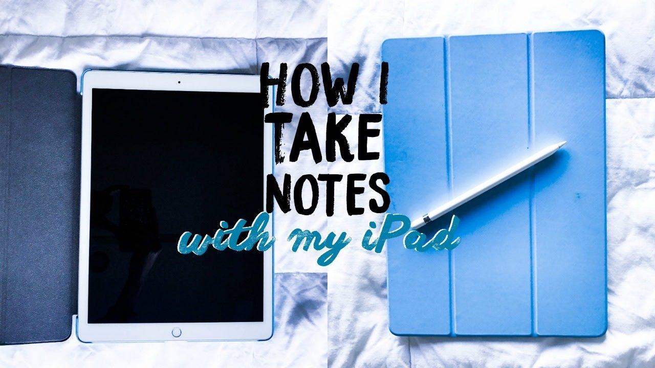how do i write on my ipad pro