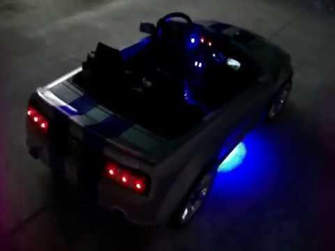Modified Power Wheels Custom Built Silver Bullet Mustang pt 2