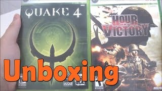 Quake 4  \ Hour Of Victory - Xbox 360 - UNBOXING