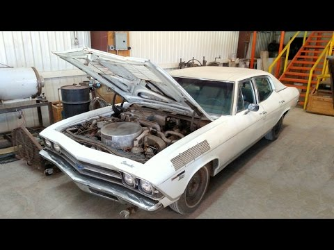 1969 Steam Powered Chevelle - Built For General Motors