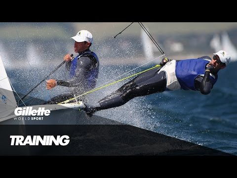 The Art of Precision Teamwork in the Sailing World Cup | Gillette World Sport